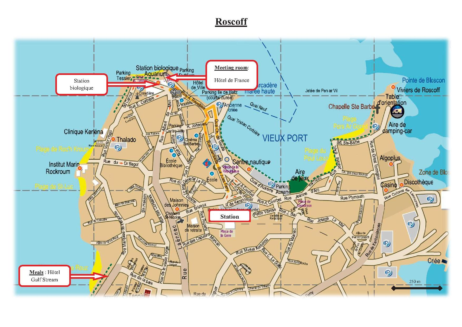 Roscoff France  City pictures : For more information, see the attached map .